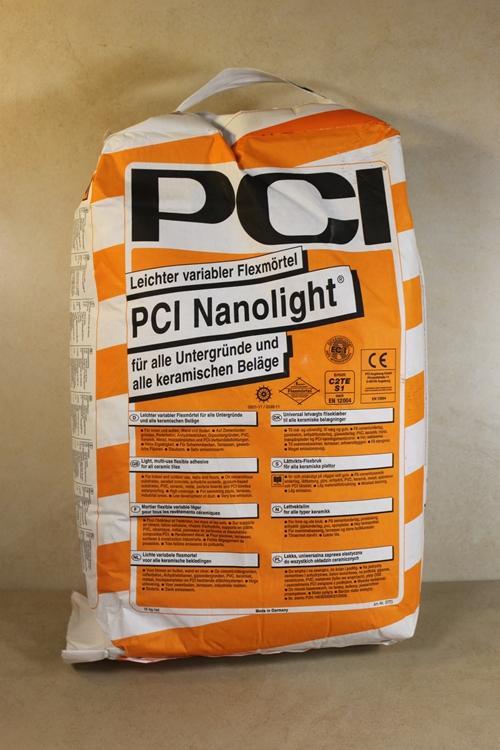 Fliesen herdt fliesenkleber pci nanolight 15kg for Pci fliesenkleber frostsicher