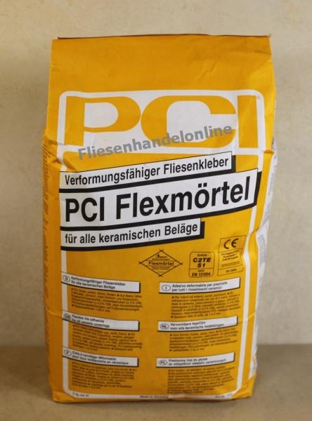 Fliesen herdt pci flexm rtel 25kg fliesenflexkleber for Pci fliesenkleber frostsicher